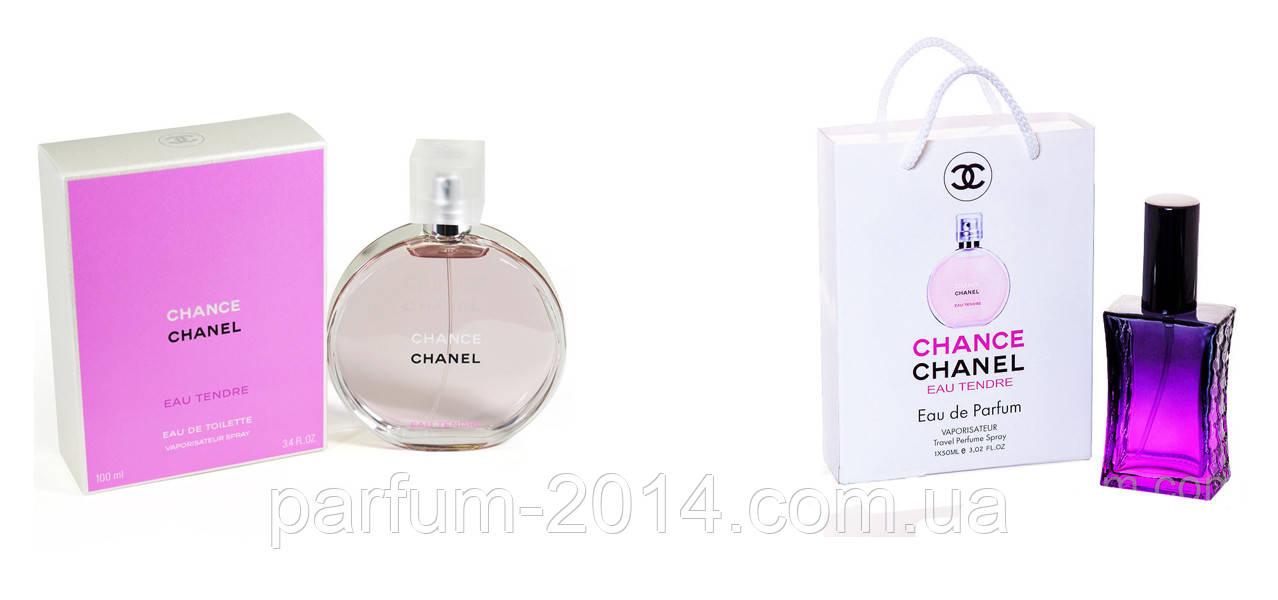 7d6a0d198284 Chanel Chance Eau Tendre 100 ml + подарочный набор Chanel Chance Eau Tendre  50 ml (