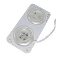 LED пластина (вставка) с магнитом двойная 24W