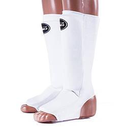 Белая защита для ног BWS размер S, M, L, XL