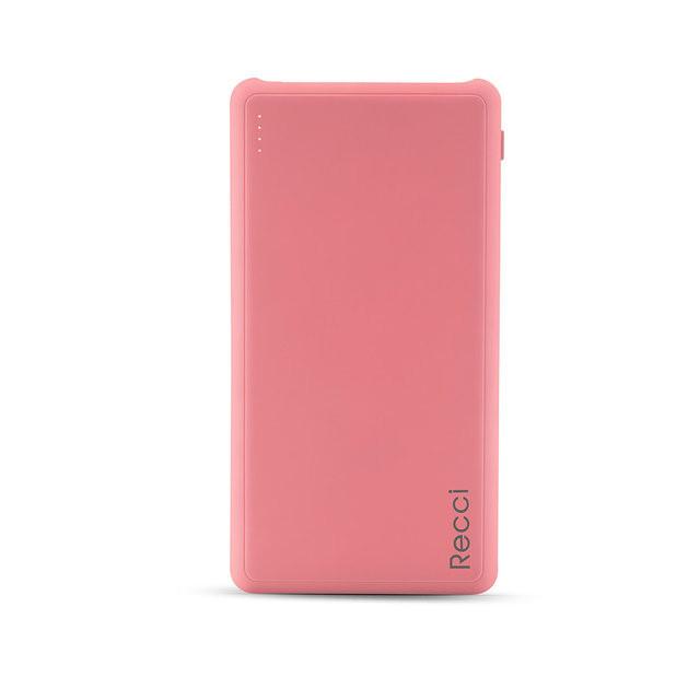 Портативное зарядное устройство Recci Dynamic RD-10000 10000mAh (Pink)