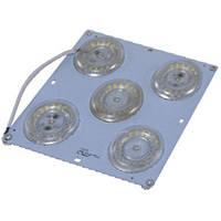 LED пластина (вставка) с магнитом пятерная 48W ST 700