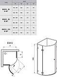 Душевая кабина RAVAK BSKK3-90 R хром+transparent 3UP77A00Y1, фото 3