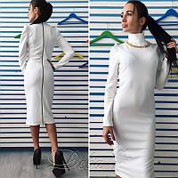 Платье из кукурузы с колье №192