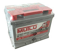 Аккумулятор автомобильный 6CT-60 Aз Ев Silver Mutlu SFB низк.