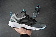 Мужские кроссовки Reebok (серые), ТОП-реплика, фото 1