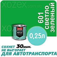 Днепровская Вагонка Быстросохнущая МЕТАЛЛ № 601 Светло -Зеленая 0,25лт