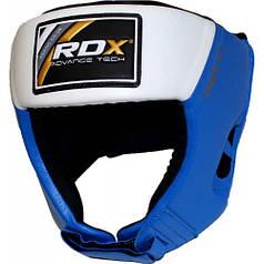 Боксерский шлем для соревнований RDX Blue M