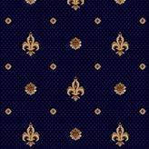 Ковролин Barocco 777-810 синий пики ( Барокко )
