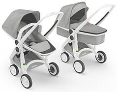 Детская коляска 2 в 1 Greentom Upp Carrycot+Reversible