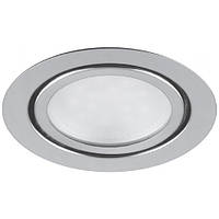 Светодиодный мебельный светильник Feron LN7 3W 4000K хром 220V (врезной) Код.54332