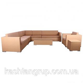 Комплект мебели Puerto из ротанга  Цвет Песочный