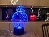 Детский ночник - светильник BB 8 3DTOYSLAMP