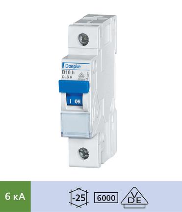Автоматический выключатель Doepke DLS 6h B6-1 (тип B, 1пол., 6 А, 6 кА), dp09914019