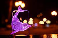 """Детский ночник - светильник """"Дельфин"""" 3DTOYSLAMP, фото 1"""