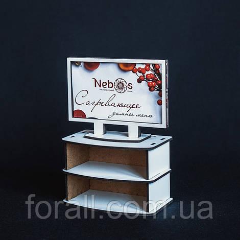 Кукольная мебель BigEcoToys Телевизор 17625