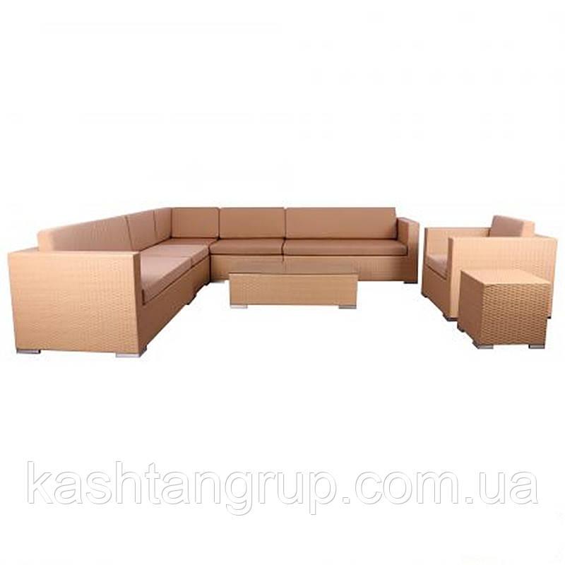 комплект мебели Puerto из ротанга купить по лучшей цене в киеве от компании интернет магазин мебели каштан групп 688235050