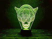 """Детский ночник - светильник """"Пума"""" 3DTOYSLAMP, фото 1"""