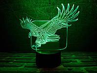 """Детский ночник - светильник """"Орел в полете"""" 3DTOYSLAMP, фото 1"""