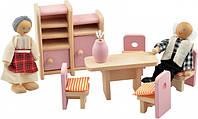 """Набор кукольной мебели """"Столовая"""""""