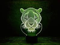 """Детский ночник - светильник """"Пантера"""" 3DTOYSLAMP"""
