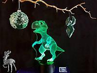 """Детский ночник - светильник """"Динозаврик"""" 3DTOYSLAMP, фото 1"""