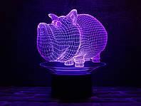 """Детский ночник - светильник """"Дог Мог"""" 3DTOYSLAMP, фото 1"""