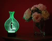 """Детский ночник - светильник """"Птица в клетке"""" 3DTOYSLAMP, фото 1"""