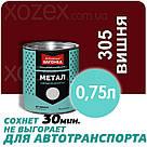Днепровская Вагонка Быстросохнущая МЕТАЛЛ № 305 Вишня 20лт, фото 4
