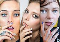 Negative space, сочные цвета и накладные ногти: чего ждать от модного маникюра-2018