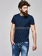 Мужская футболка с якорями Glo-Story