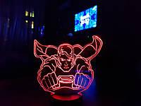 """Детский ночник - светильник """"Супермен"""" 3DTOYSLAMP"""