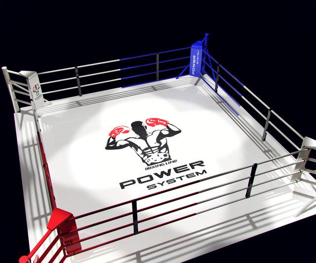 Боксерские ринги напольные, профессиональные.