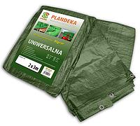 Тент водонепроницаемый GREEN 90 гр/м.кв. размер 6x12м, PL906/12