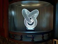 """Детский ночник - светильник """"Лента Мебиуса"""" 3DTOYSLAMP, фото 1"""