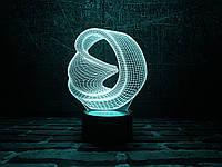 """Детский ночник - светильник """"Бесконечность"""" 3DTOYSLAMP, фото 1"""