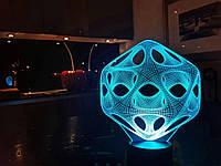 """Детский ночник - светильник ночник  """"Вирус"""" 3DTOYSLAMP, фото 1"""