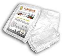 Тент (тарпаулин) водонепроницаемый WHITE 90 гр/м.кв. размер 2 х 3м, PLW902/3