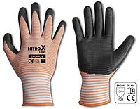 Перчатки защитные NITROX LINE нитрил, размер 9, RWNL9