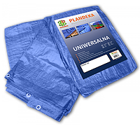 Тент тарпаулин водонепроницаемый BLUE 60 гр/м.кв. 4 х 6 м, PL4/6