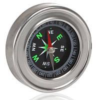 Компас металлический магнитный LP75