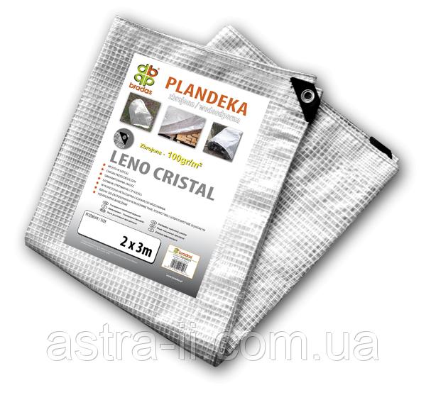 Тент прозрачный армированный LENO CRISTAL 100 гр/м.кв. размер 5 х 8м, PLC1005/8
