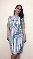 Летнее женское платье из муслина П27, фото 1