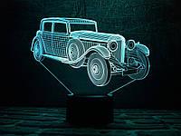 """Детский ночник — светильник """"Автомобиль 11"""" 3DTOYSLAMP, фото 1"""