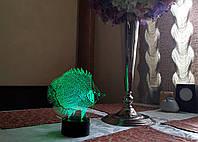 """Детский ночник - светильник ночник """"Рыбка"""" 3DTOYSLAMP, фото 1"""