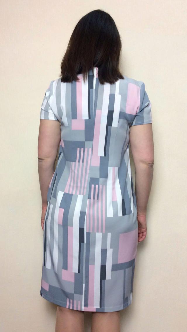 Летнее женское платье из муслина П27