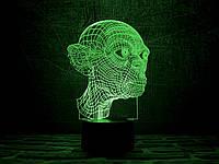 """Детский ночник - светильник """"Голлум"""" 3DTOYSLAMP, фото 1"""