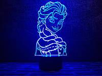 """Детский ночник - светильник """"Холодное Сердце 2"""" 3DTOYSLAMP"""