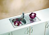 Кухонная мойка Alveus Basic 150 I сатин 78*44, фото 2