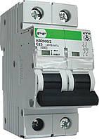 Модульний автоматичний вимикач Промфактор АВ2000 EVO 2Р, 1-63А, 10кА, С
