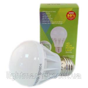 Лампа светодиодная Шар 3 Вт Е14 220V 4000k, фото 2